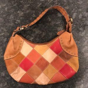 Fossil Patchwork Hobo Bag
